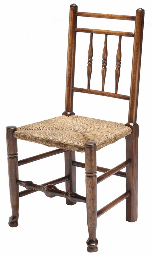 Dales spindleback chair: W575 Dales Spindleback side chair