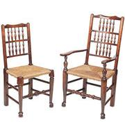Lancashire spindleback side chair