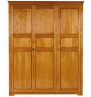 3 Door Cherry Wardrobe