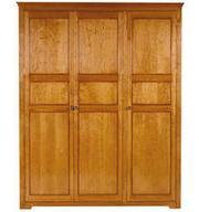3 Door Cherry Wardrobe